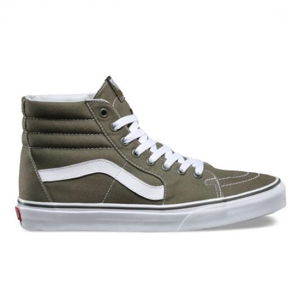 8bfc3f6b49 Olive green sk8-hi Vans. M 5aca6795a6e3eaf1c2bb3817